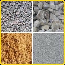 Цемент, песок, отсев