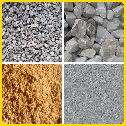 Цемент, песок, гипс, керамзит
